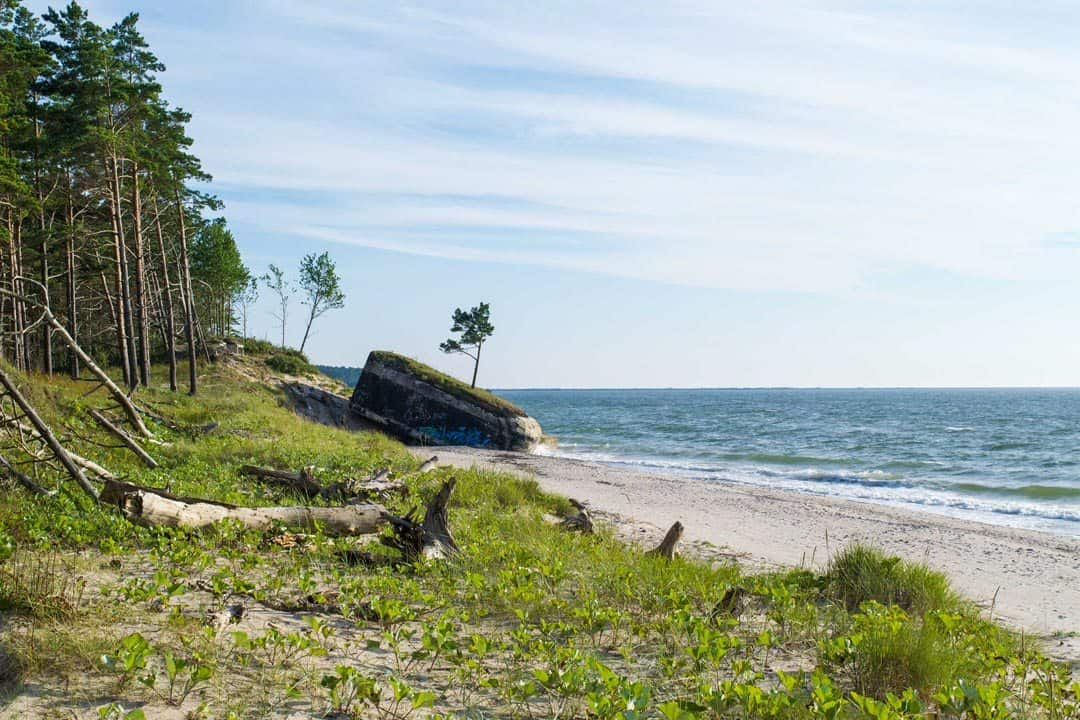 Bunker Karosta Beach Latvia