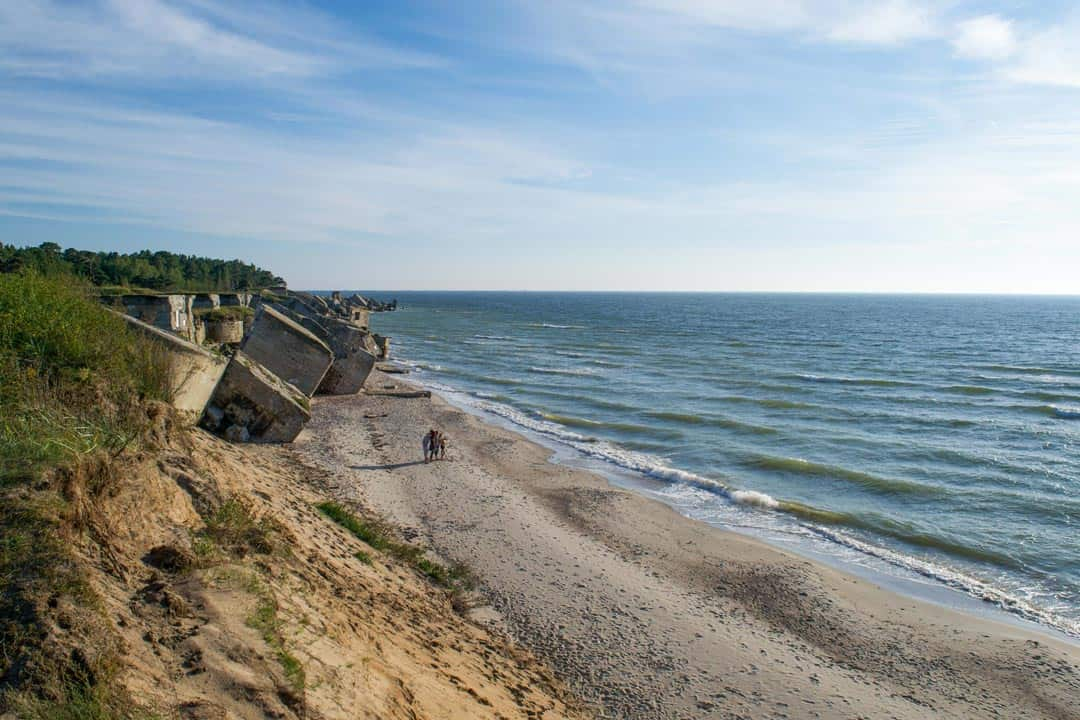 Baltic Sea Karosta Beach Latvia