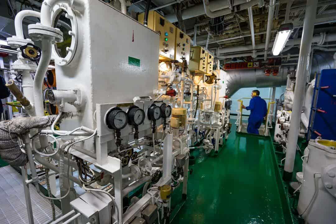 Engine Room Akademik Ioffe Review