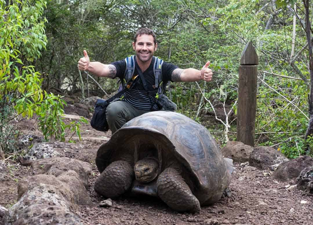 Giant Tortoise Letty Galapagos Islands Ecoventura Itinerary B Review