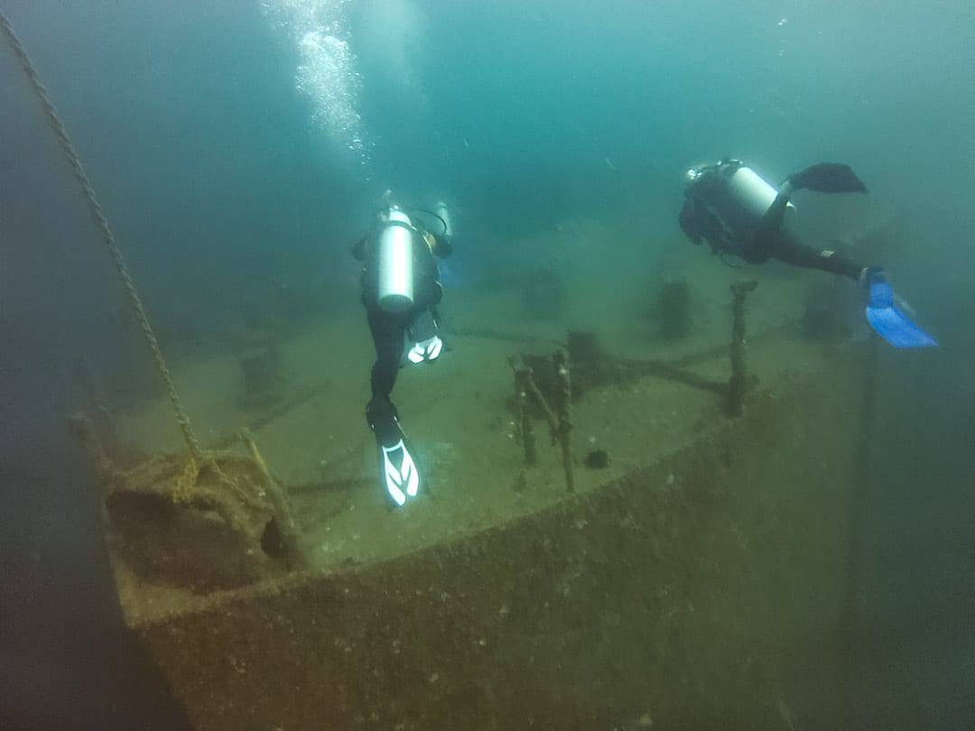 Al Munassir Wreck Oman Diving