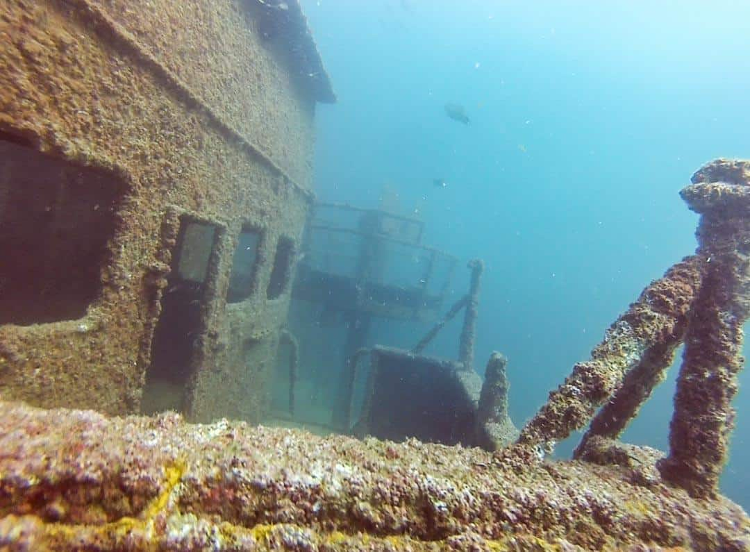 Wreck Diving In Oman