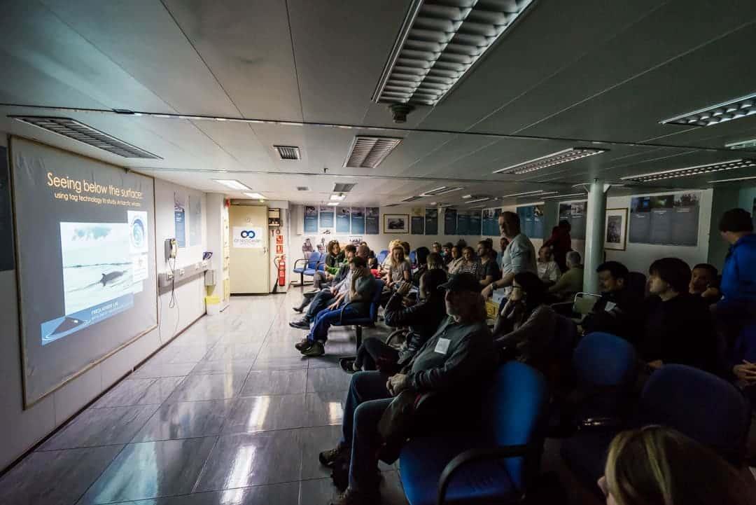 Presentation Room Akademik Ioffe Review