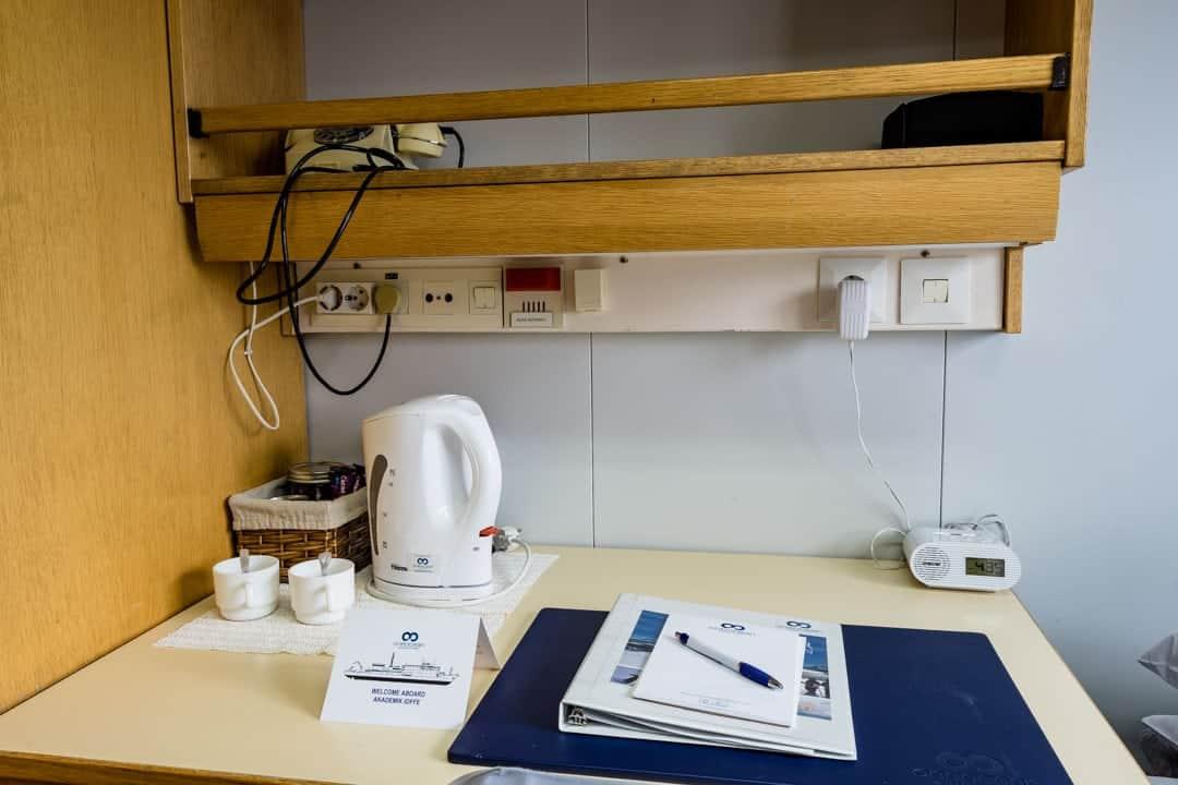 Work Desk Cabin Akademik Ioffe Review