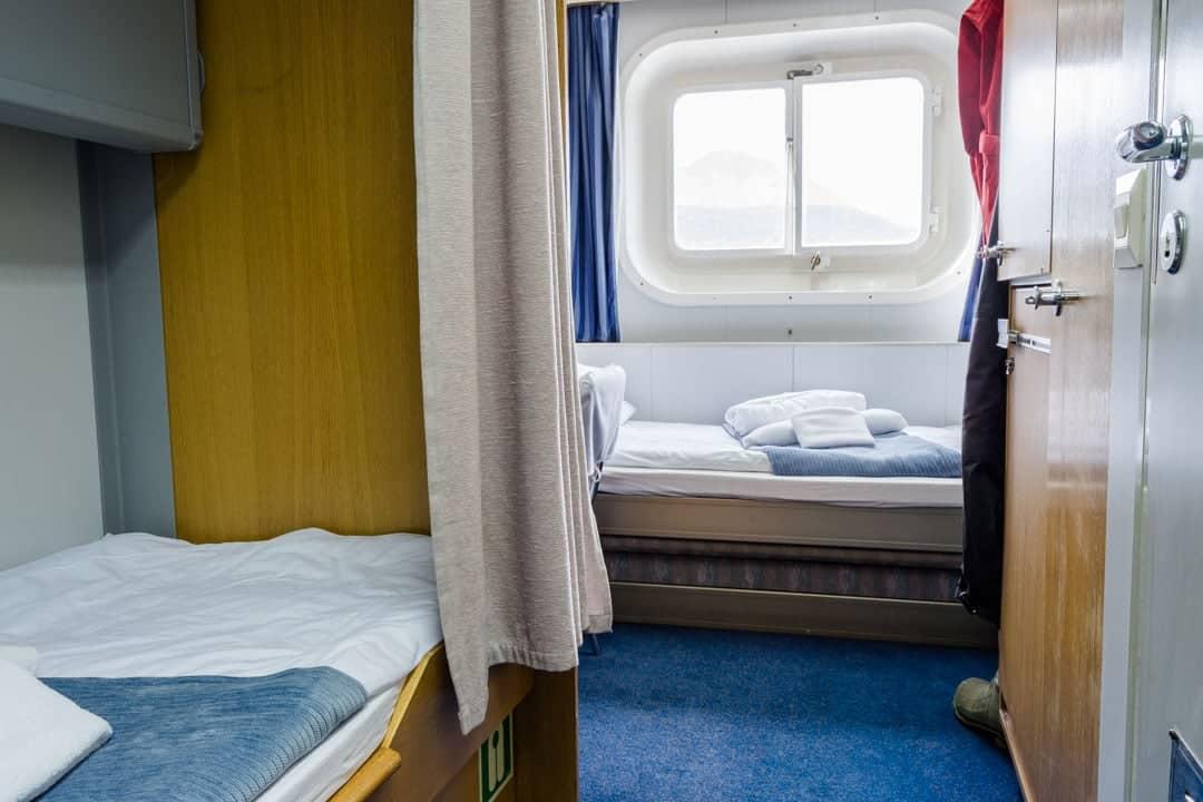 Twin Semi-Private Cabin Akademik Ioffe Review