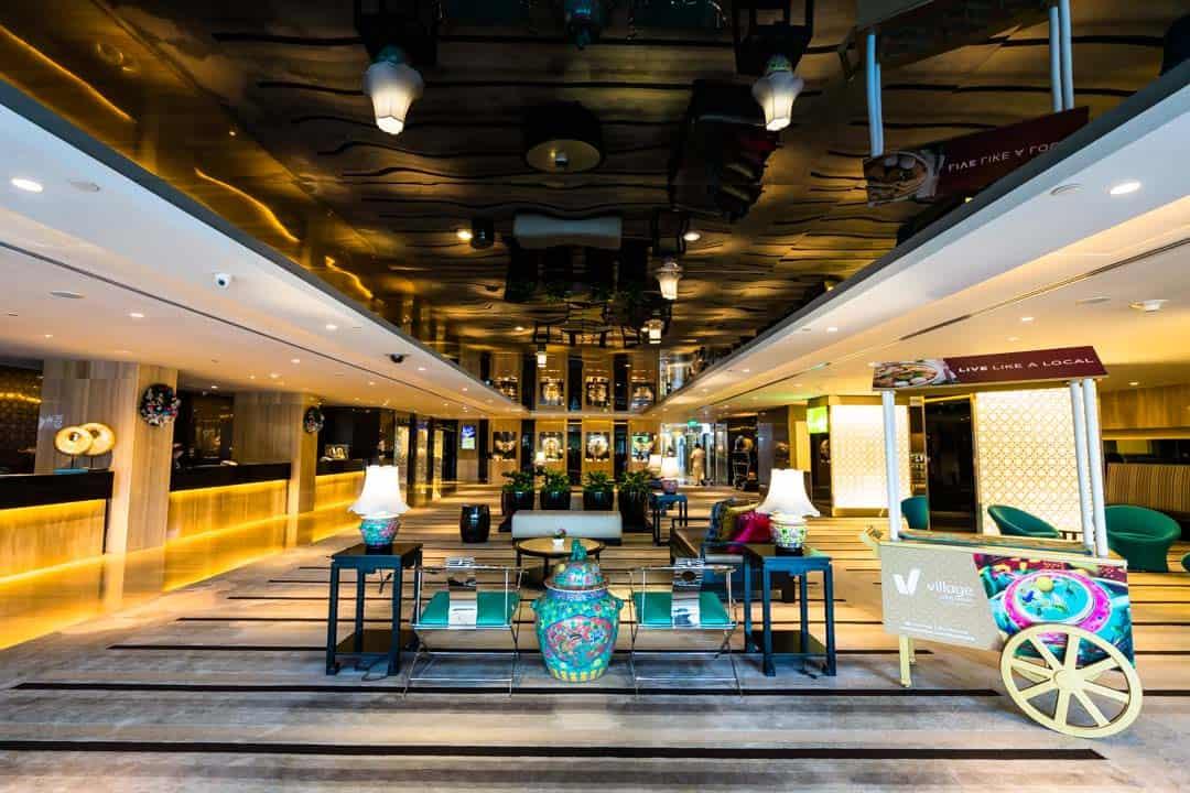 Lobby Village Hotel Katong Singapore