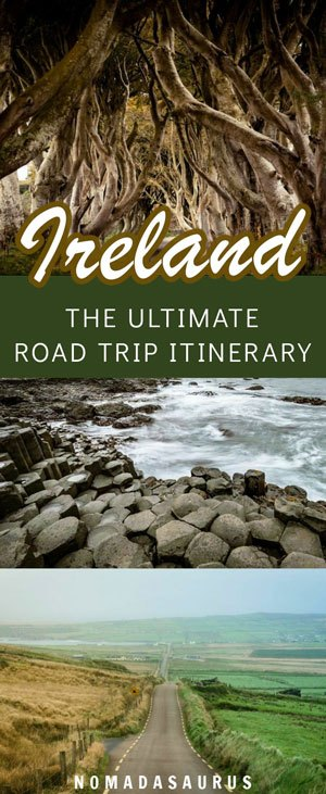 Pinterest Ireland Road Trip