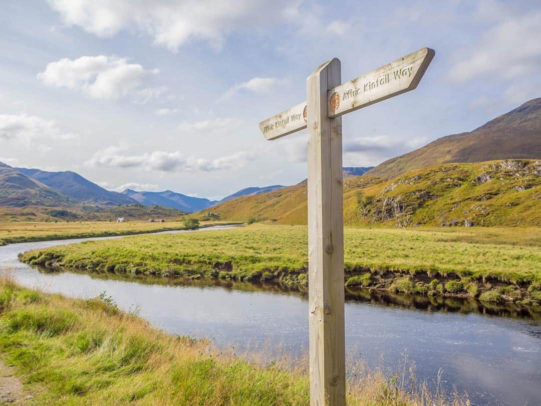 Affric Kintail Way Travelling The Scottish Highlands