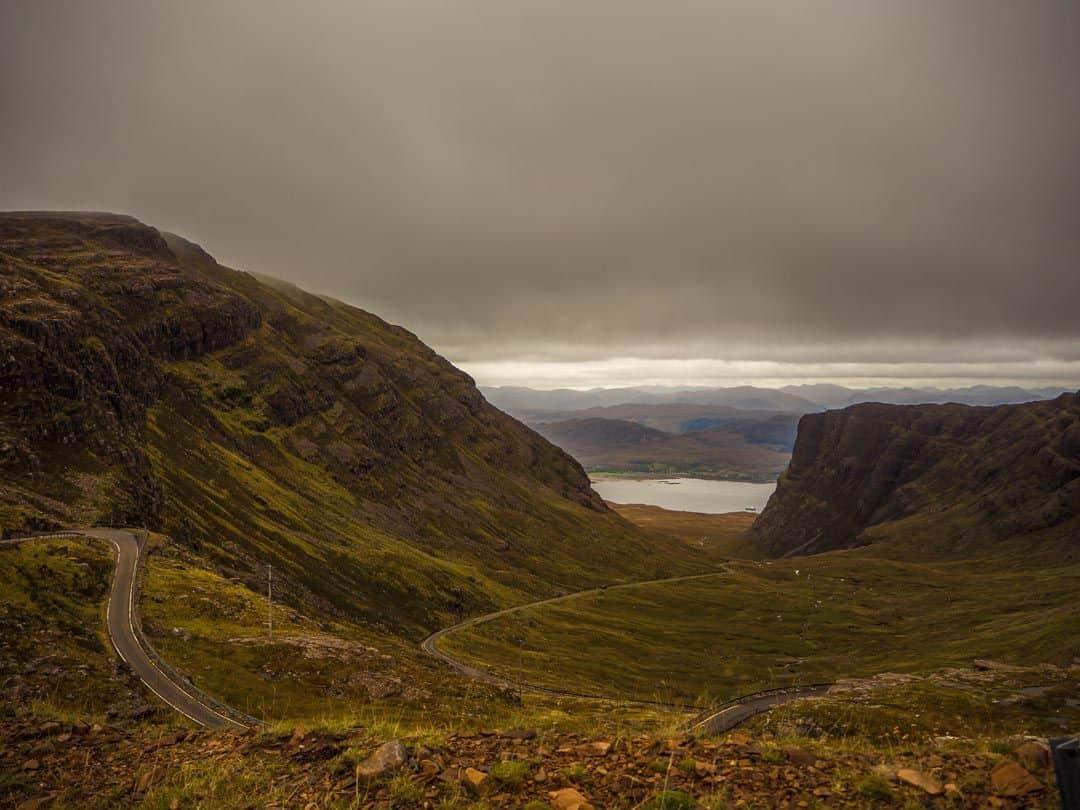 Travelling the Scottish Highlands - Applecross