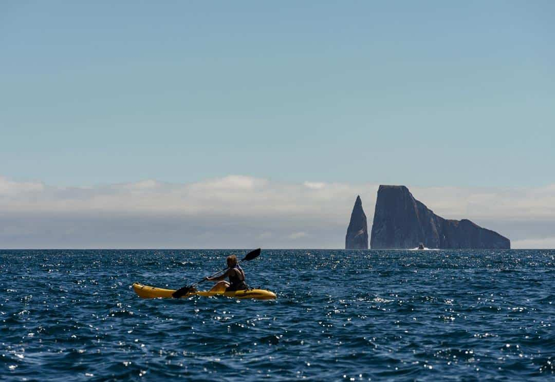 Kayaking Kicker Rock Ecoventura Itinerary A Review Origin Galapagos Islands