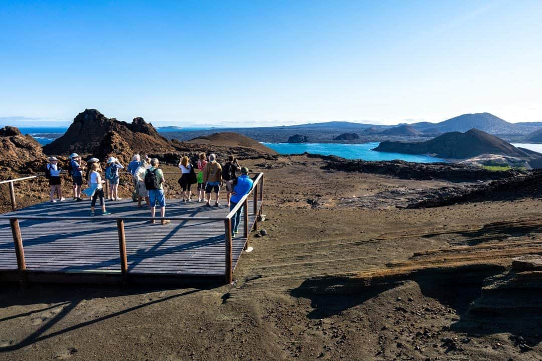 Bartolome Island Ecoventura Itinerary A Review Origin Galapagos Islands