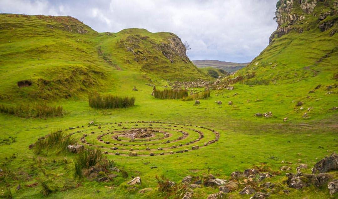 Fairy Glen, Isle of Skyle Travelling The Scottish Highlands