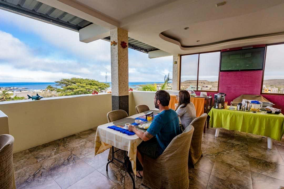 Breakfast Galapagos Eco Friendly Best Accommodation In San Cristobal