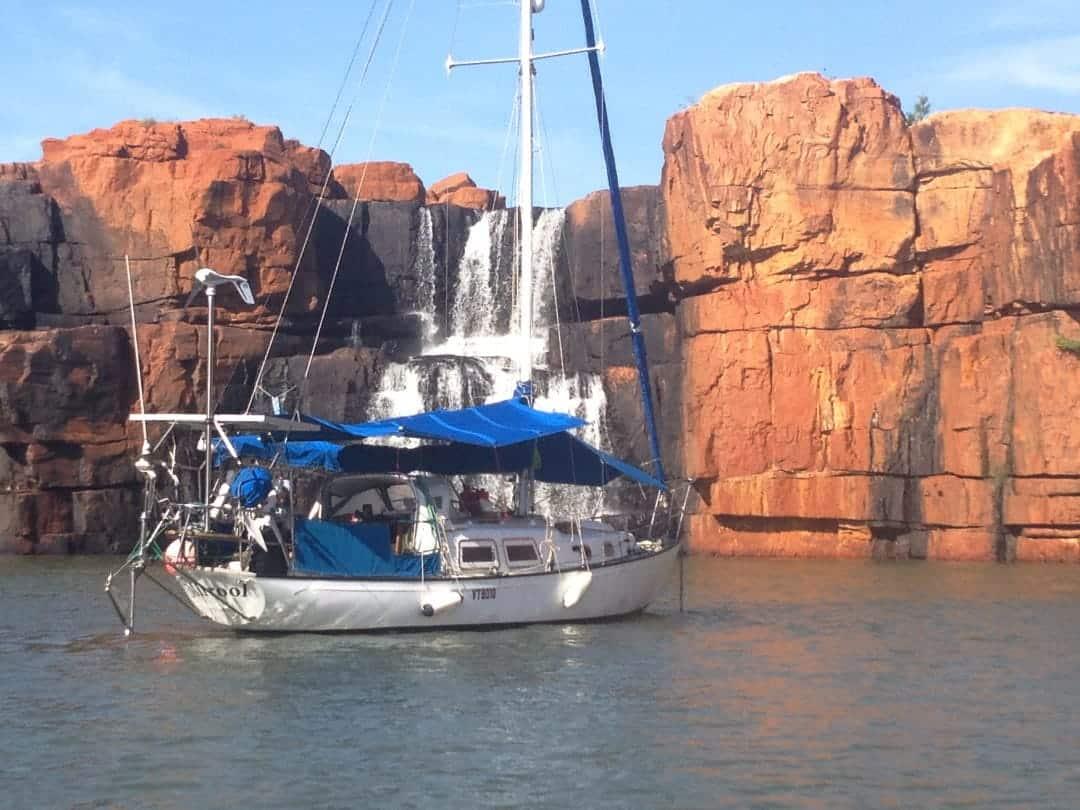 Mirrool Casurina Falls Sailing The Kimberleys