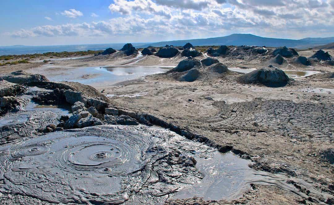 Gobustan Mud Volcanos