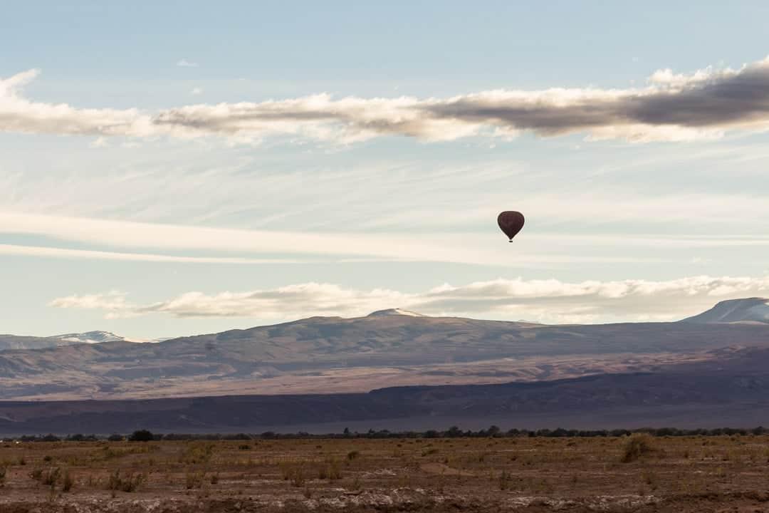 Hot Air Balloon Atacama Desert
