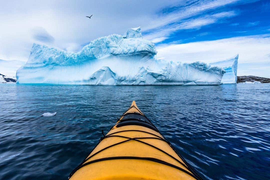 Kayaking Iceberg Antarctica