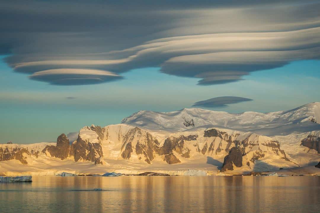 Lenticular Clouds Antarctica