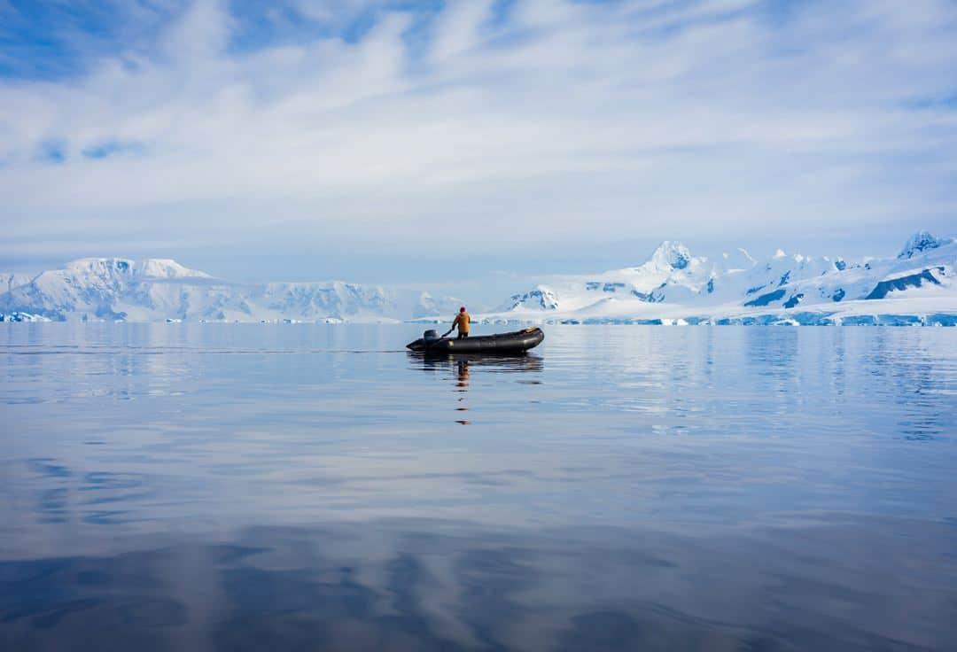 Lonely Zodiac Antarctica
