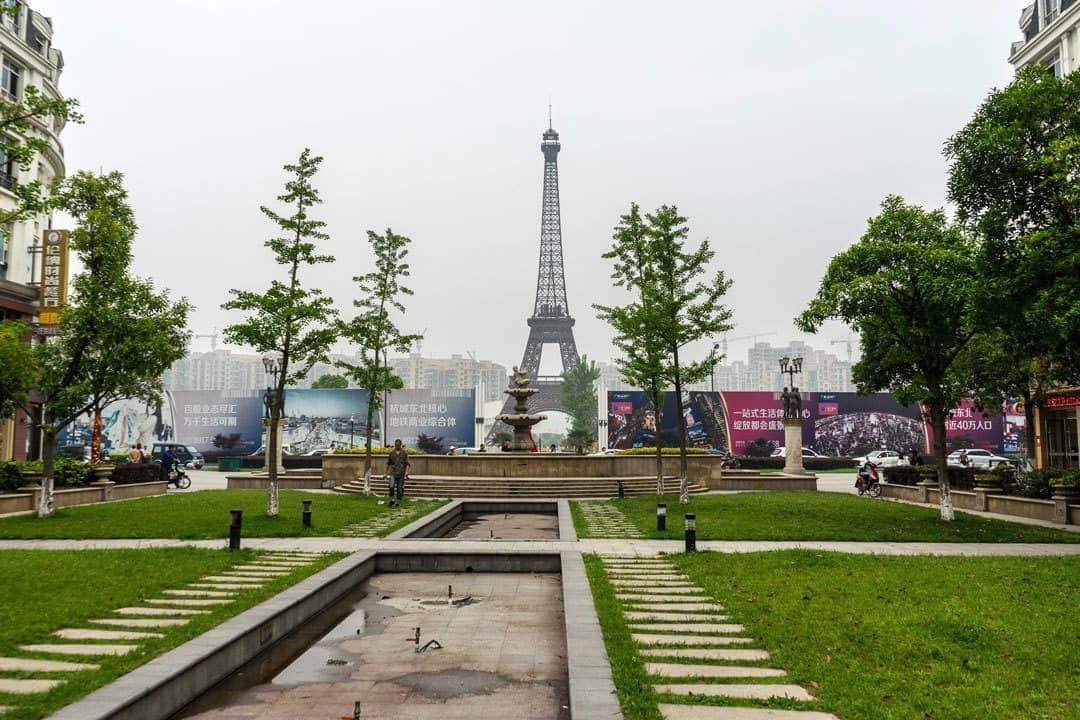 Eiffel Tower Tianducheng
