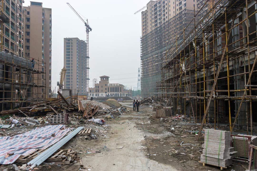 Construction Site Tianducheng