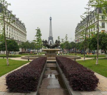 Tianducheng China's Parisian City