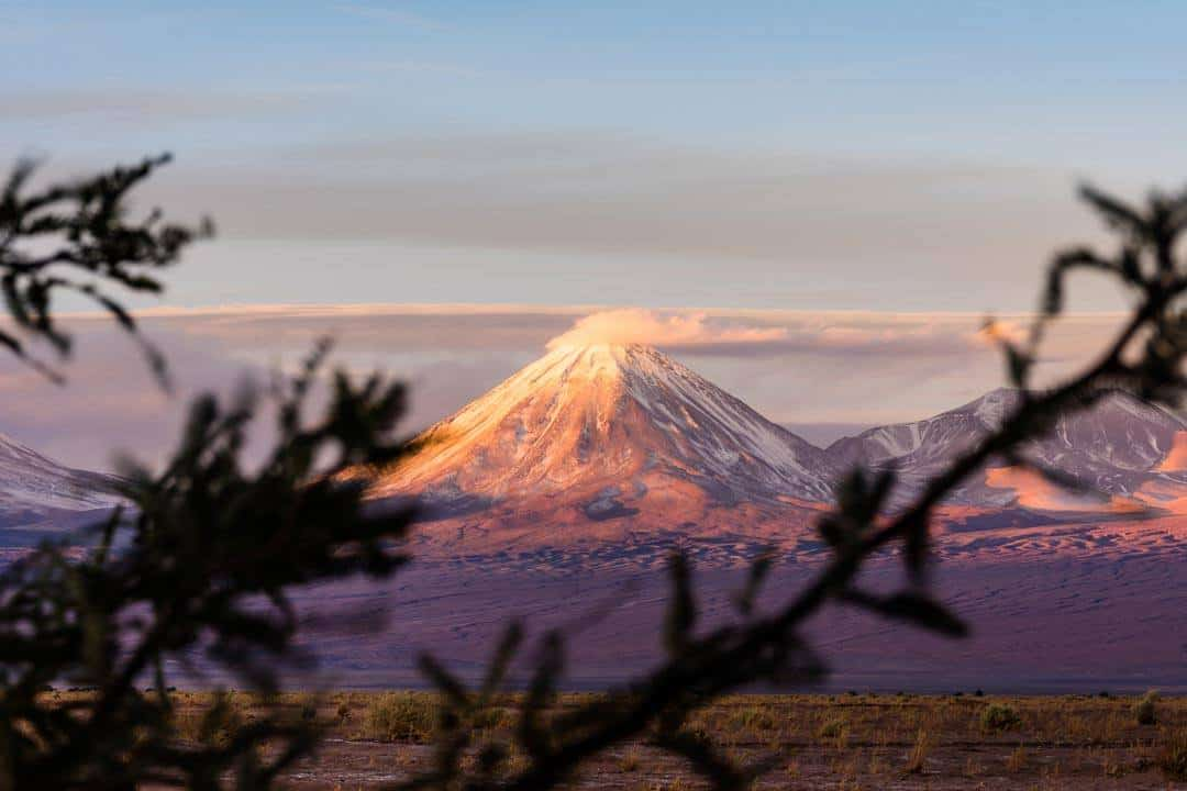 Volcano Atacama Desert