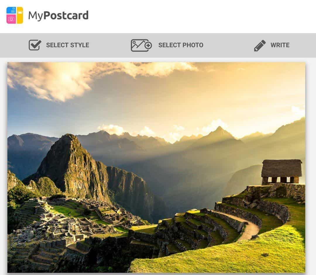 MyPostcard Post