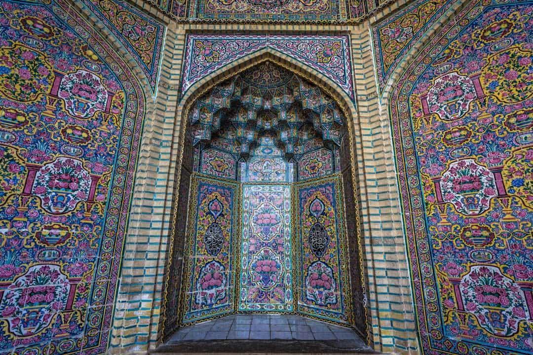 Nasir Ol Molk Pink Mosque Shiraz Iran