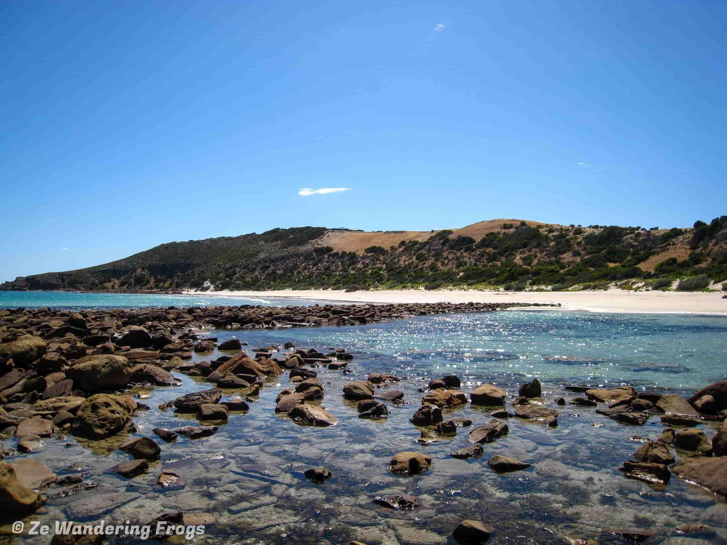 Beautiful View Of Stokes Bay, Kangaroo Island