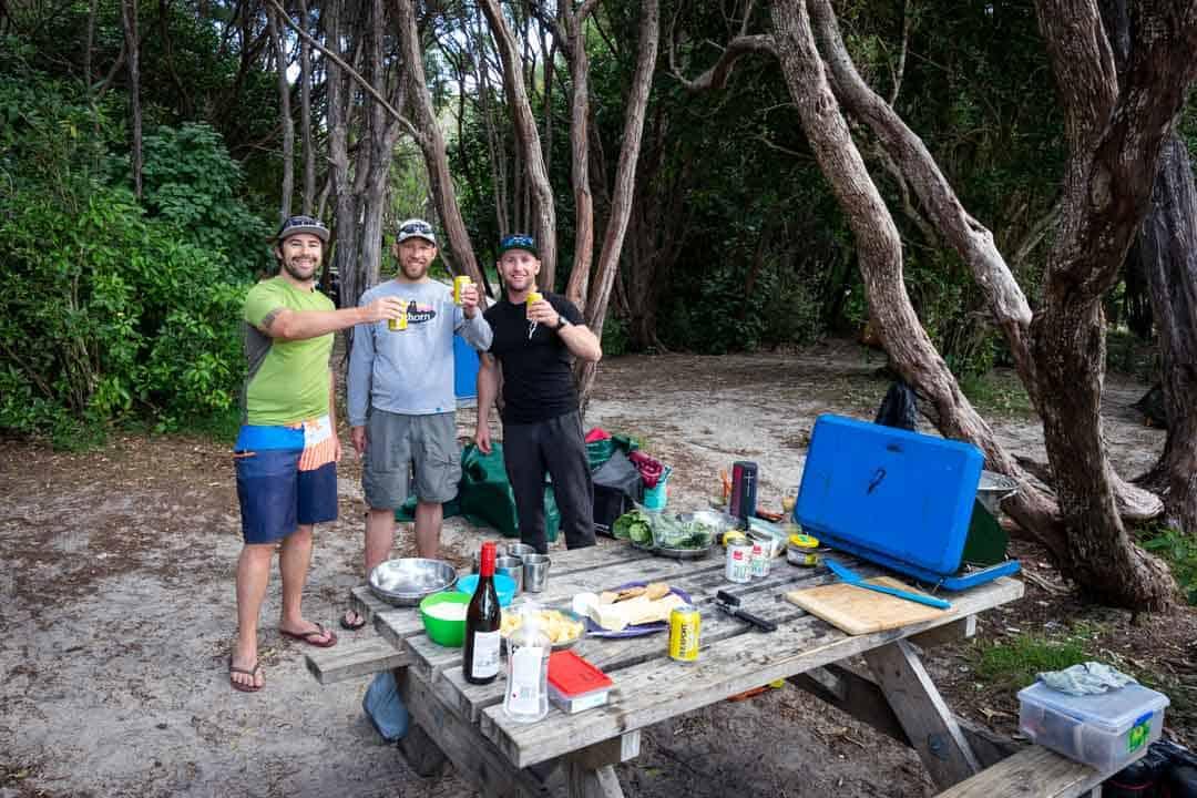Crew Abel Tasman Kayaking