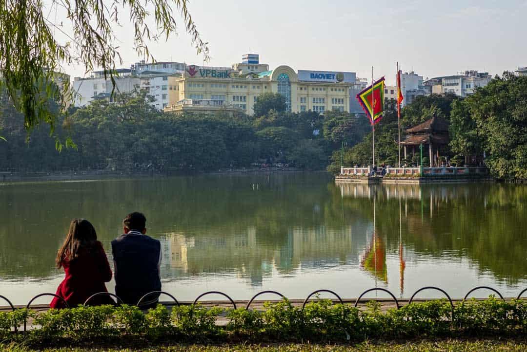 Couple Pagoda Hanoi