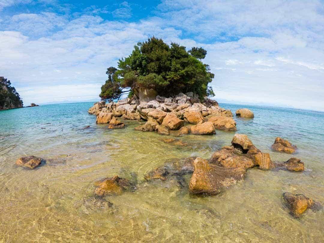 Fisherman Island Kayking In Abel Tasman National Park