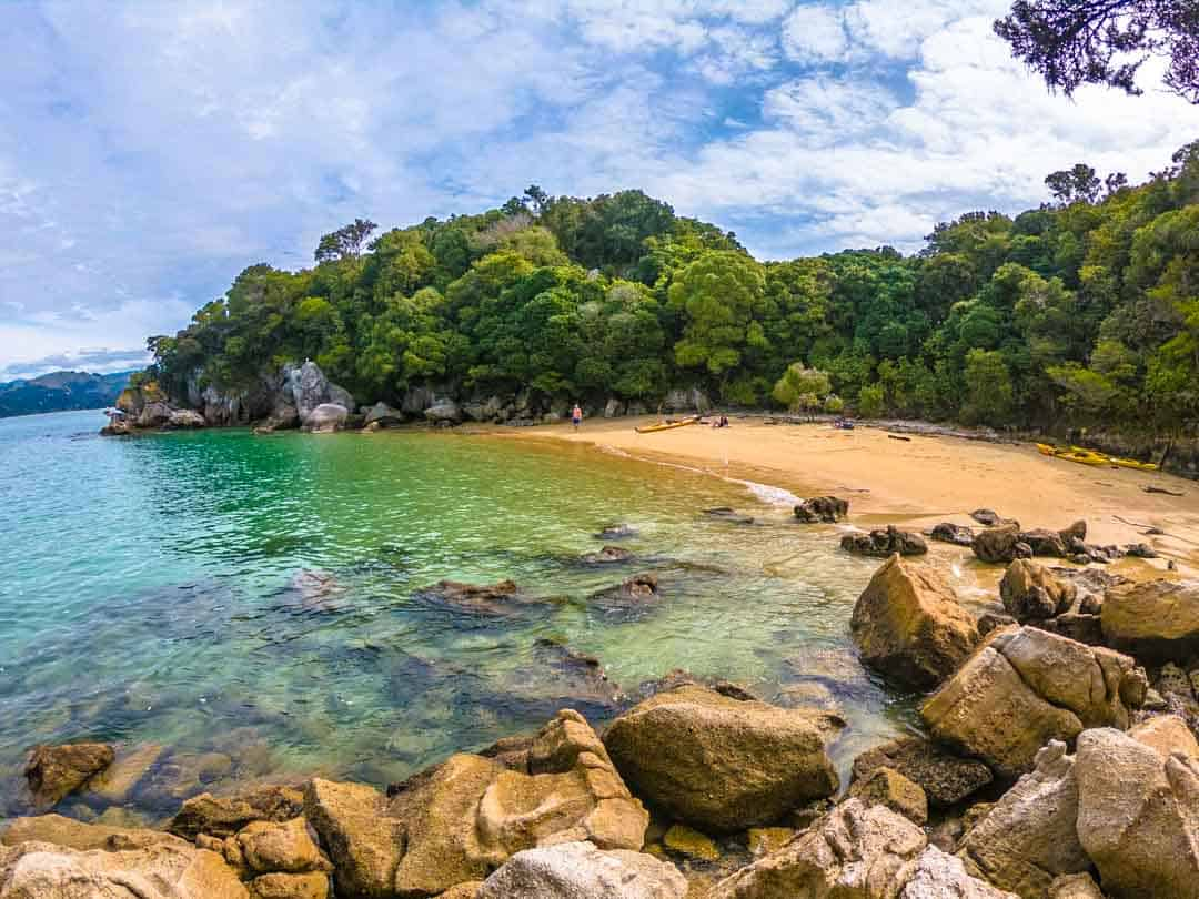Fisherman Island Kayaking In Abel Tasman National Park