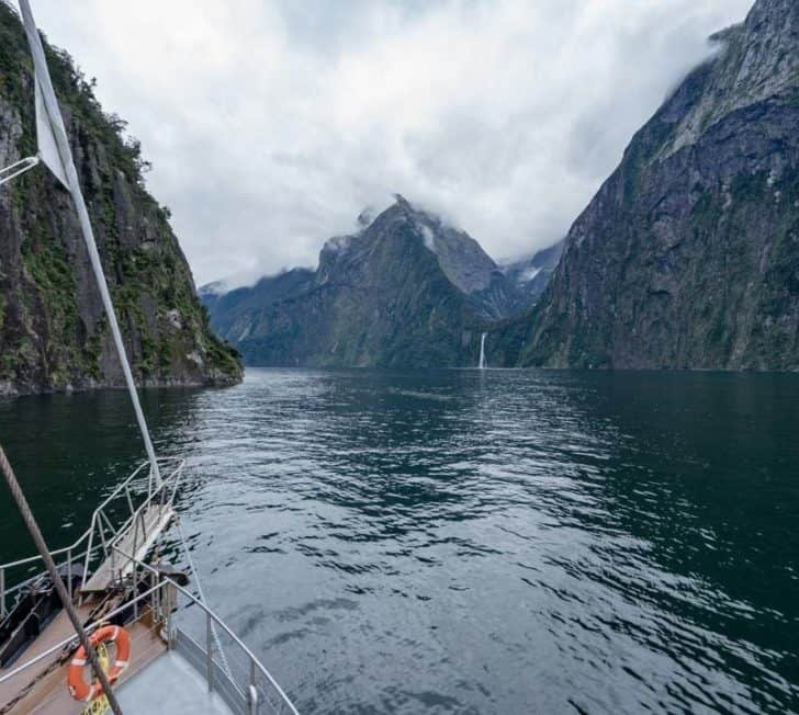 What It's Like On An Overnight Milford Sound Cruise with Real Journeys