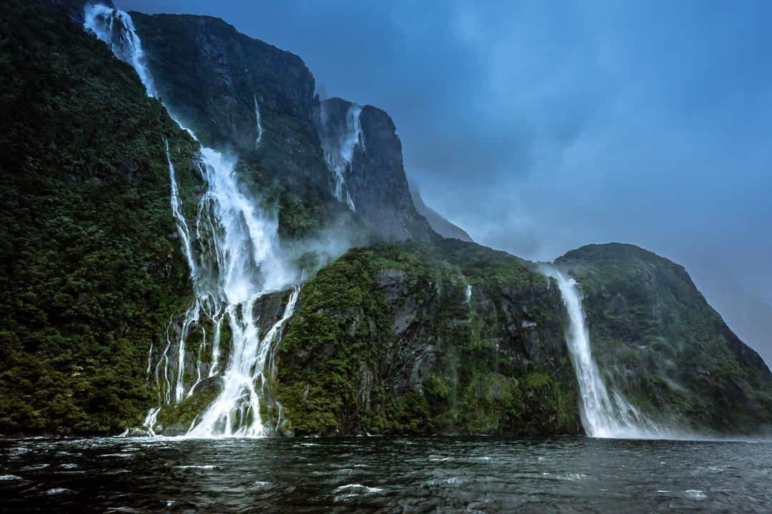 Waterfalls Milford Sound Cruise