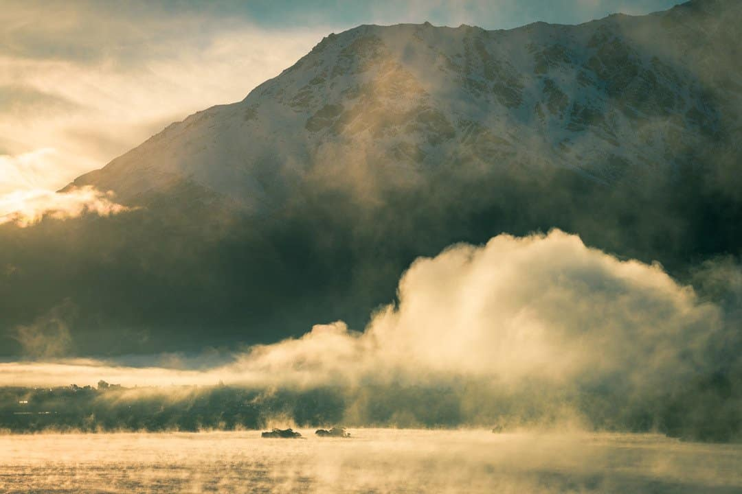 Lake Wakatipu Mist Queenstown