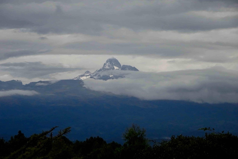 View Of Mt Kenya