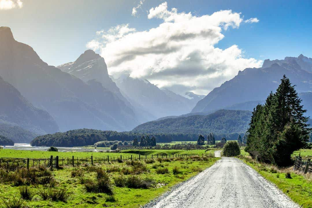 Road To Paradise New Zealand