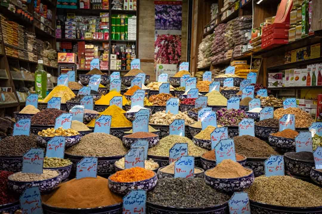 Spices In Shiraz