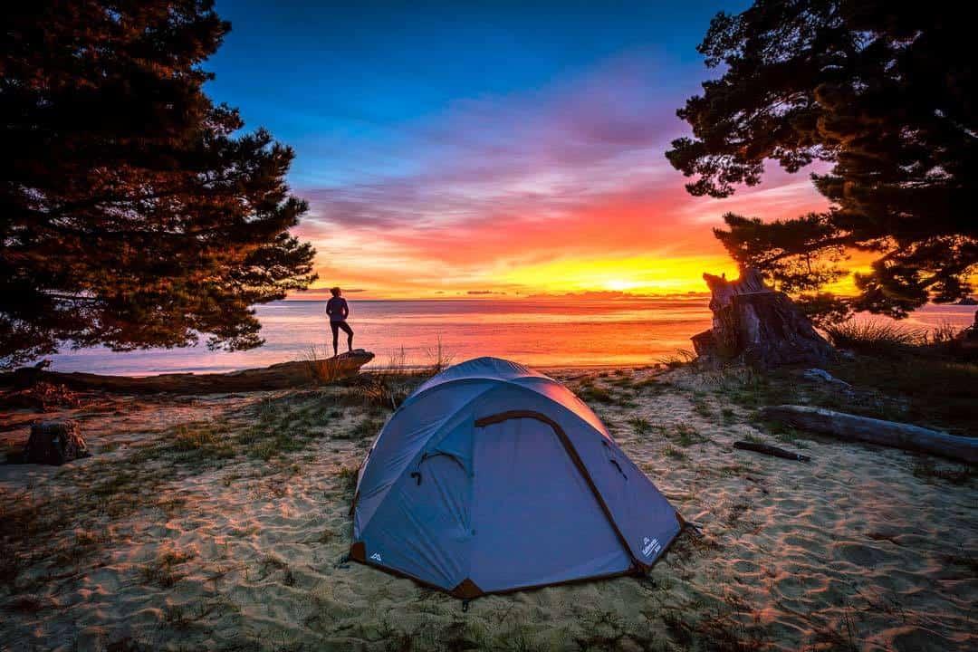 Sunrise Mutton Cove Campsite