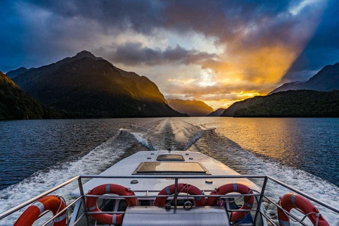 Sunrise Lake Manapouri