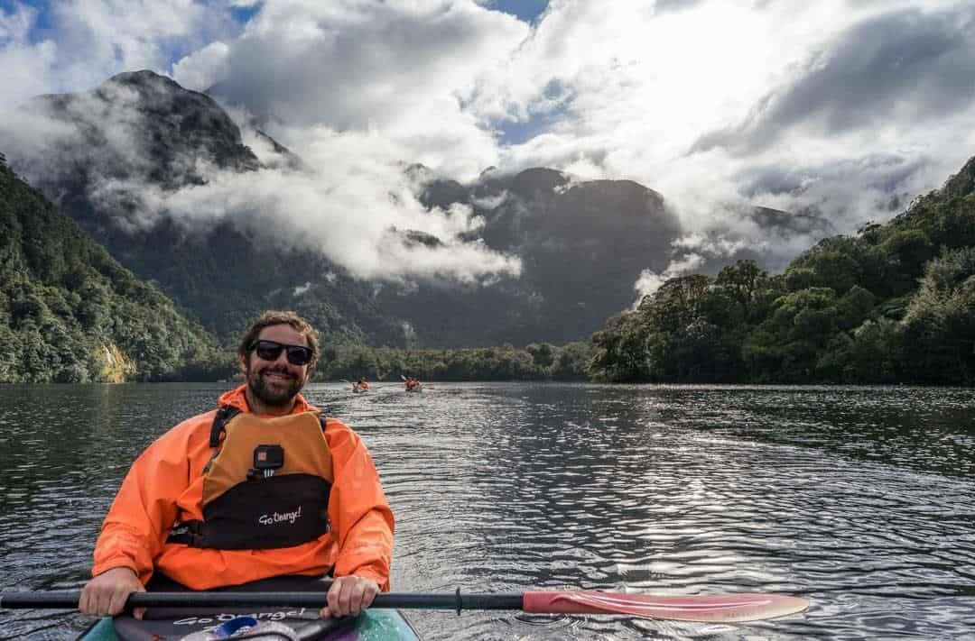 Jazza Kayaking Doubtful Sound