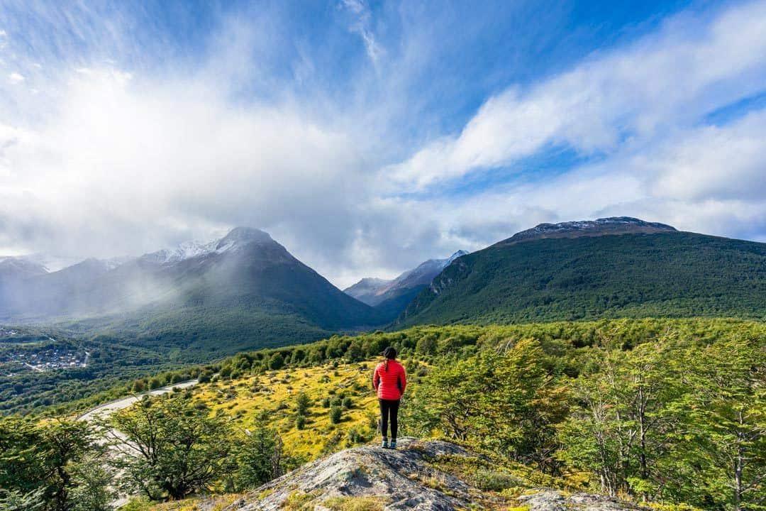 Hiking In Ushuaia Patagonia