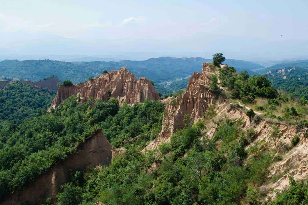 Sand Pyramids Of Melnik, Day Hikes In The Balkans