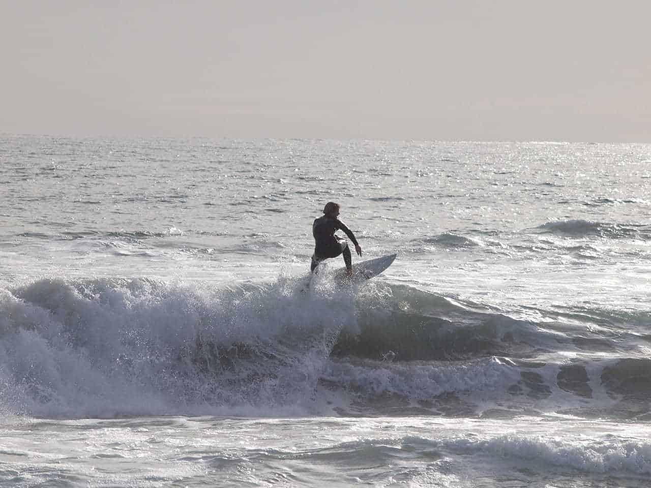 Man Surfing Perth