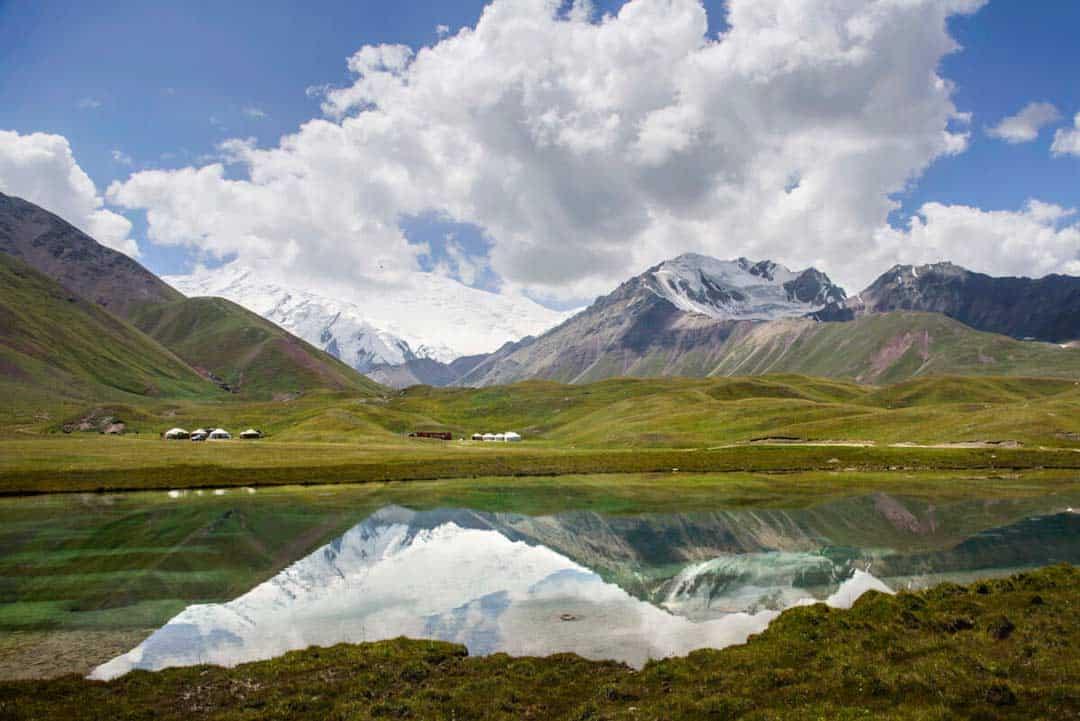 Tulpar Lake Kyrgyzstan