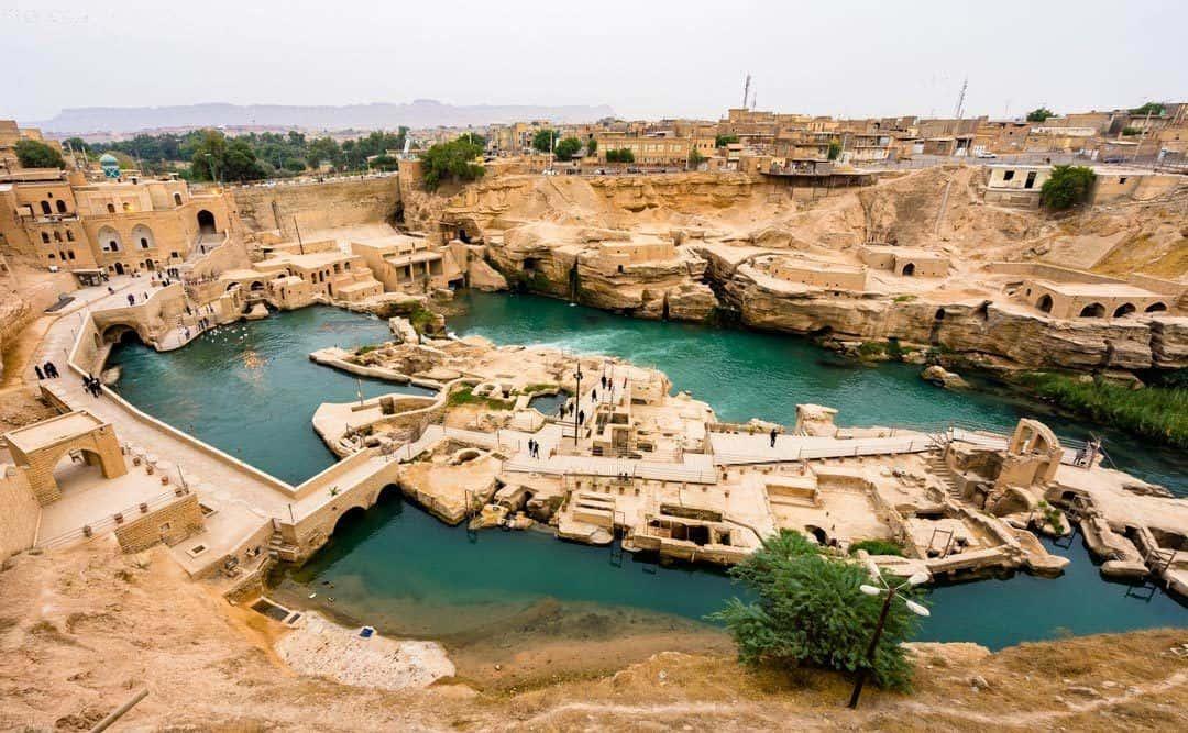 Hydraulic Dam In Shushtar