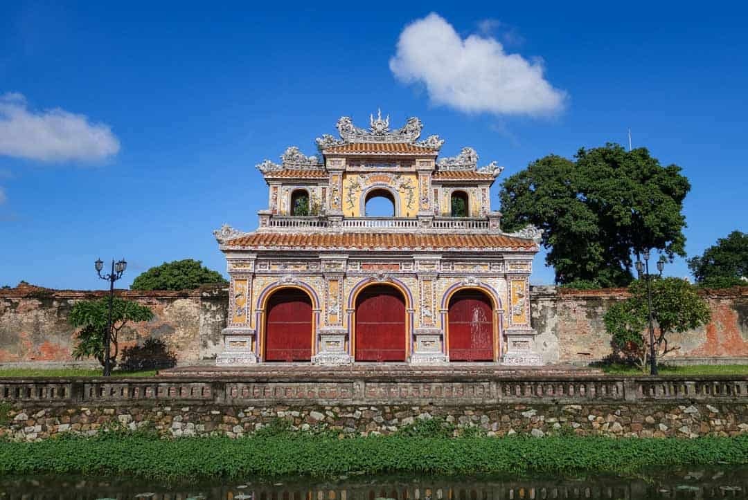 Imperial City In Hue