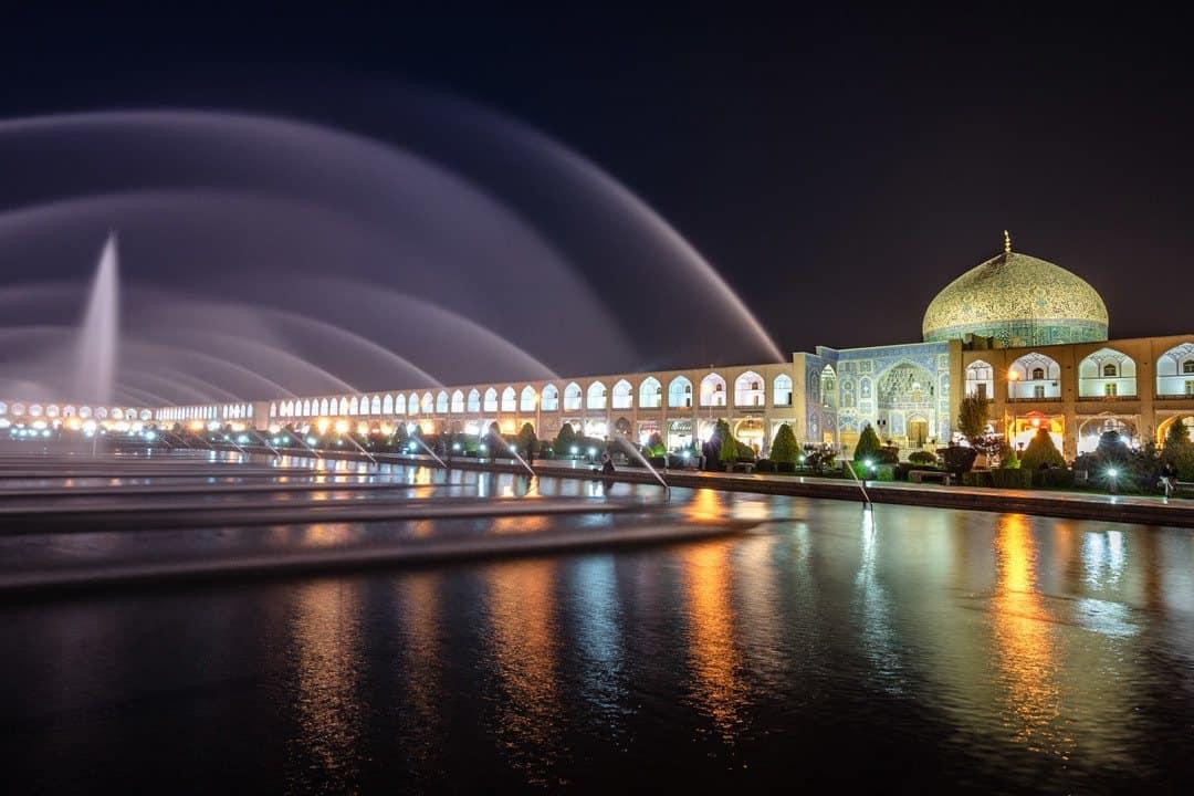 Ladies Mosque At Night